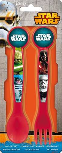 2 pezzi Set di posate - Star Wars