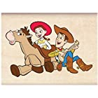 Disney Wood Mounted Rubber Stamp: Toy Story Woody