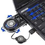 SAWAKE Mini aspirateur USB LED bleue...