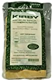 Kirby Generation 6 and Ultimate G Micron Magic Hepa Filtration Disposable Vacuum Cleaner Bags, Kirby Item Number 197201, 3 bags in pack