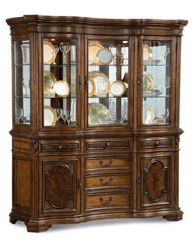 Picture of A.R.T. Furniture China Cabinet - Hickory Veneers (73243-2636R) (73243-2636R) (China Cabinets)