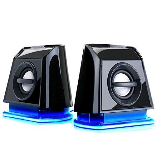 GOgroove-BassPULSE-2MX-USB-Computer-Speakers