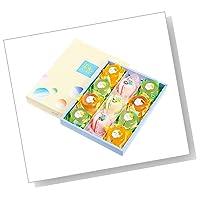 [創味菓庵] お中元 ゼリー プリン 詰め合わせ セット 果実のハーモニー 中 5種 11個 【 専用化粧箱】【ラッピング済】