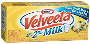 Velveeta, 2 % Milk, 16-Ounce Loaves (Pack of 6)