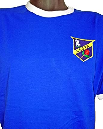 Retro everton 1886 football t shirt new sizes s xxl for The order 1886 shirt