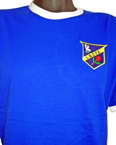Retro Everton 1886 Football T Shirt New Sizes S-XXL Embroidered Logo