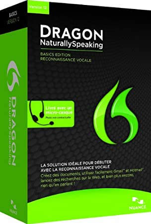 Dragon NaturallySpeaking Basics 12.0, French