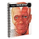 img - for Rapid Review: Anatomy Reference Guide by Oliver, Marcelo, Burkel, William E. (1996) Spiral-bound book / textbook / text book