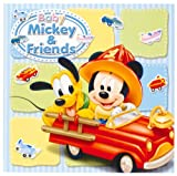 FUJICOLOR photo mount Disney Baby Mickey 6 switch character Blue 15733 (japan import)