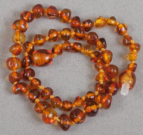 Baltic Amber Teething Necklace 13''