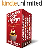 Culinary Cozy Mystery Box Set: Books 1-5 of the Frosted Love Series (Frosted Love Cozy Mysteries)