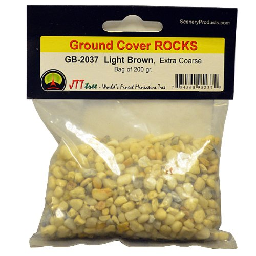 JTT Scenery Products Rocks, Off-White/Light Brown