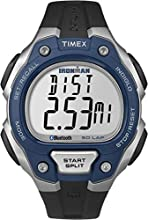 Timex Ironman Men's Quartz Watch with LCD Dial Digital Display and Black Resin Strap - TW5K86600