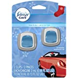 Febreze Car Vent Clips Linen & Sky Air Freshener (2 Count; 2 Ml Each), 0.13 Fluid Ounce