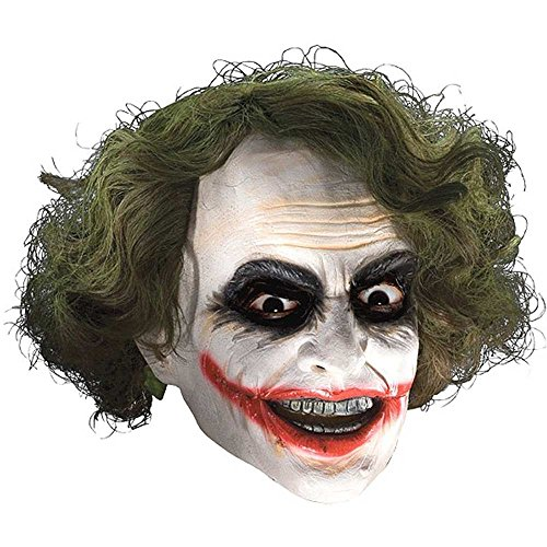The Joker Latex Adult Mask with Hair