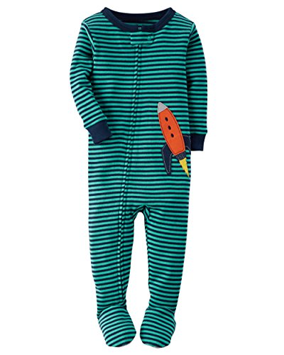 carters-little-boys-snug-fit-cotton-footie-pajamas-turquoise-3t