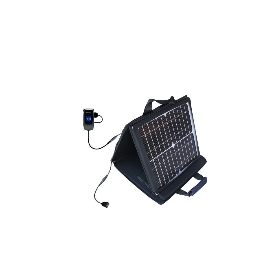 Gomadic SunVolt High Output Portable Solar Power Station designed for the Samsung SGH A226 A227   Can charge multiple devices with outlet speeds Electronics