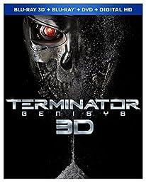 Terminator Genisys (Blu-ray 3D + Blu-ray + DVD + Digital HD)