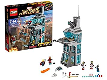 LEGO - 76038 - Marvel Super Heroes - L'Attaque de la tour des Avengers