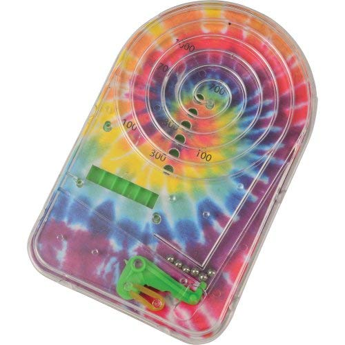 US Toy 4536 4 Piece TIE DYE Pinball Games