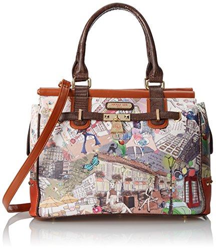 Nicole Lee Breanna City Print Large Shoulder Bag,City Look,One Size