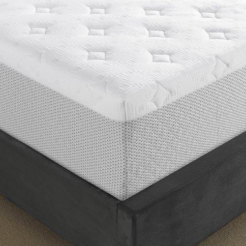 serta 14 inch gel memory foam mattress queen import it all. Black Bedroom Furniture Sets. Home Design Ideas