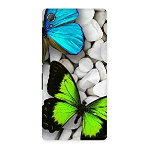 Premier Butterflies Multicolor Back Case Cover for Xperia Z4