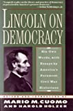 Lincoln on Democracy (0060987006) by Lincoln, Abraham