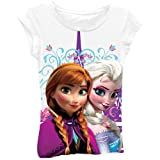 Disney Frozen Anna and Elsa Girls T-Shirt