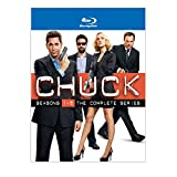 51YzdXKOJ%2BL. SL500 SS160  Chuck: The Complete Series   Collector Set on Blu ray   $66.99!