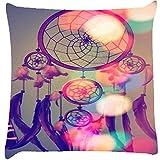 Snoogg Dream Catcher Digital Cushion Cover Throw Pillows 16 X 16 Inch