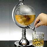 MiniEsting(TM) Creative Mini Globe Water Beer Liquor Dispenser Beverage Storage Bar Decorations