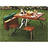 Tailgate Folding Wooden Picnic Table