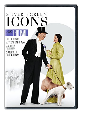 DVD : Silver Screen Icons: The Thin Man (Boxed Set, 4 Disc)