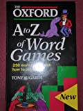 img - for The Oxford a - z of Word Games book / textbook / text book