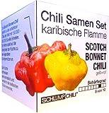 """Chili Samen Set """"Karibische Flamme"""" Scotch Bonnet Chilli rot"""
