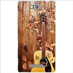 Sony Xperia C Back Cover - Guitar Designer Cases
