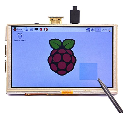 geeekpi-5-inch-800480-hdmi-monitor-resistive-touch-screen-tft-lcd-display-for-raspberry-pi-3-model-b