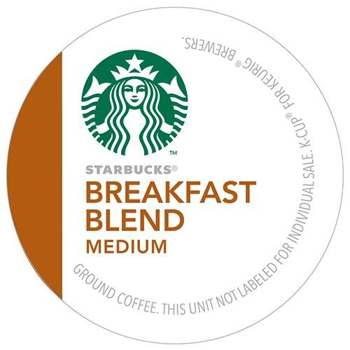 Starbucks Breakfast Blend Coffee K-Cups 96 count (K Cups Starbucks Breakfast Blend compare prices)