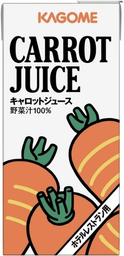 Kagome hotel restaurant for carrot juice 1 l