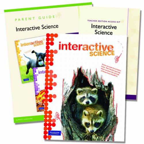 Interactive Science Homeschool Bundle with Teacher's Edition eText, Grade 4