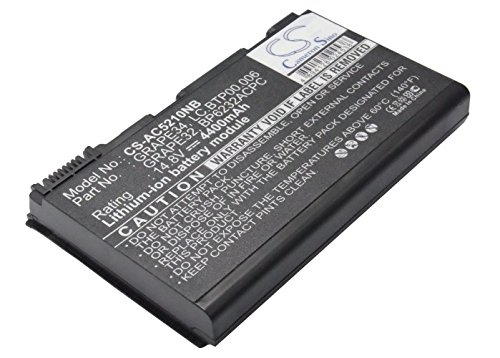 Click to buy Cameron Sino 4400mAh Replacement Battery for Acer TravelMate 5520G-402G16Mi - From only $60.09