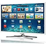 Samsung UE50ES6710 50-inch Widescreen Full HD 1080p 3D Smart TV with Built-in Wi-Fi and 2 Pairs of 3D Glasses - White (discontinued by manufacturer)