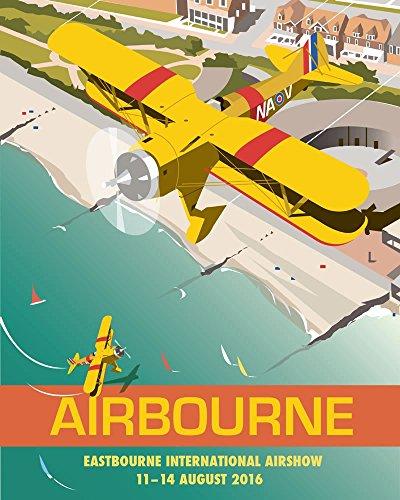 dave-thompson-aegon-airshow-sussex-stampa-fine-art-multicolore-14-x-28