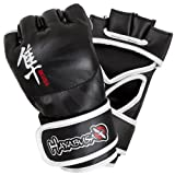 Hayabusa Ikusa MMA Gloves, 4-Ounce/Medium, Black