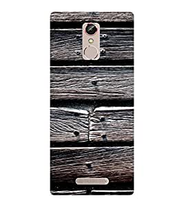 EPICCASE Woody Mobile Back Case Cover For Gionee S6S (Designer Case)