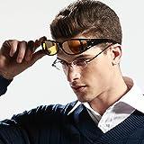 Duco Myopia Night Vision Glasses Night Driving Polarized Plus Size Black 8953Y