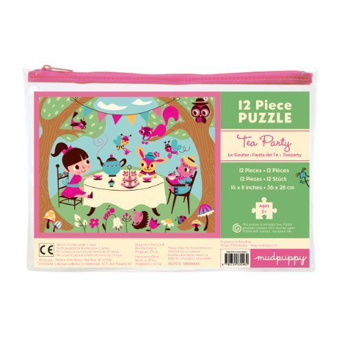 Mudpuppy Tea Party Pouch Puzzle