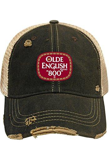 Olde English 800 Malt Liquor Brewing Company Retro Brand Beer Mesh Hat Cap (Beer Company Hat compare prices)