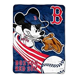MLB Boston Red Sox 46x60-Inch Micro Raschel Throw by Northwest